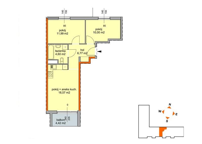 Mieszkanie -/48