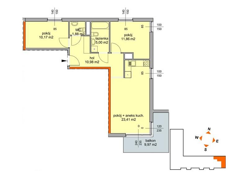 Mieszkanie -/42