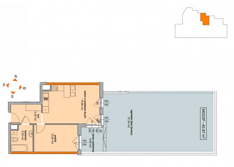 Mieszkanie Budynek B - II Etap/03