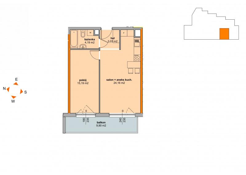 Mieszkanie Budynek B - II Etap/20