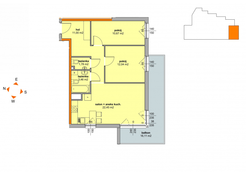 Mieszkanie Budynek B - II Etap/29