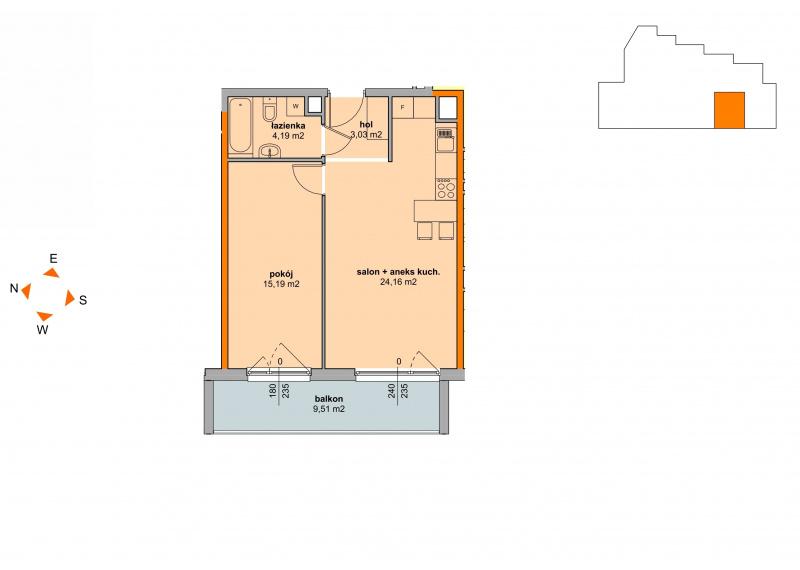 Mieszkanie Budynek B - II Etap/40