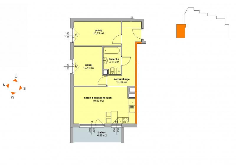 Mieszkanie Budynek B - II Etap/44
