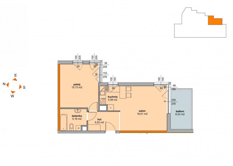 Mieszkanie Budynek B - II Etap/48