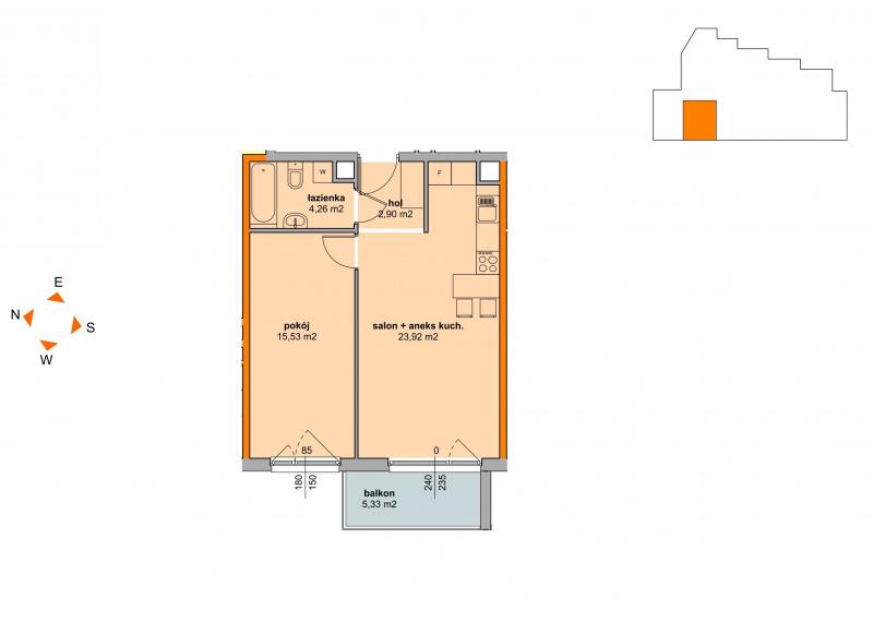 Mieszkanie Budynek B - II Etap/53