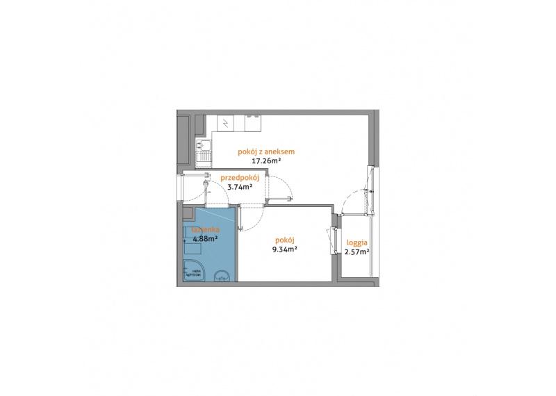 Mieszkanie 56C/31