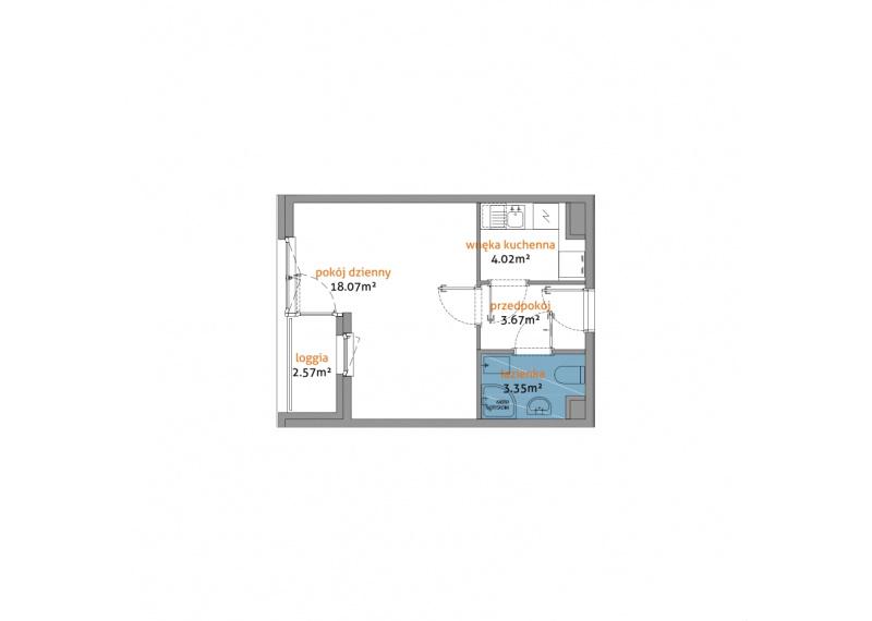 Mieszkanie 56C/35