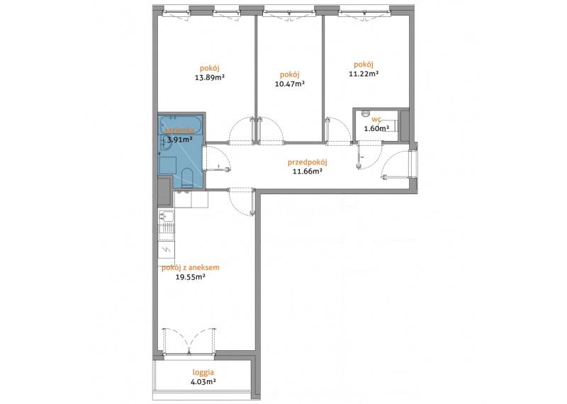 Mieszkanie 56C/127