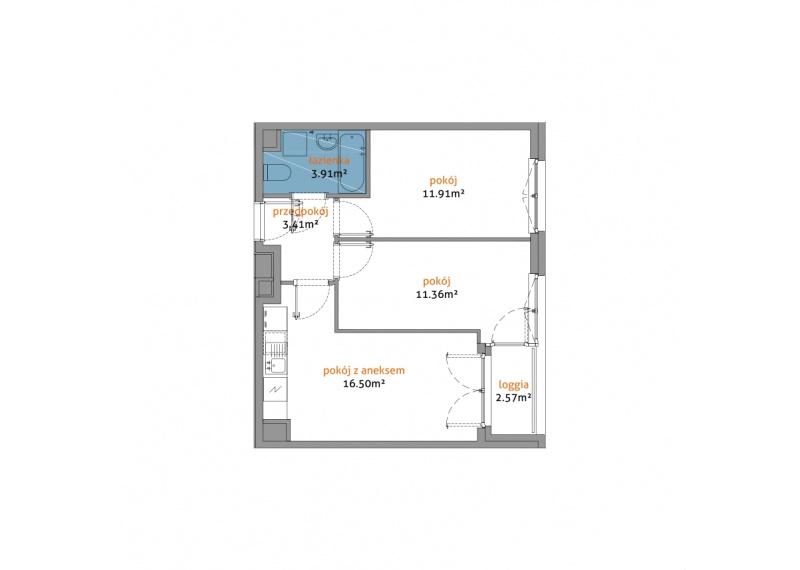 Mieszkanie 56C/170