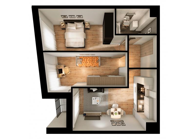 Mieszkanie 56C/55