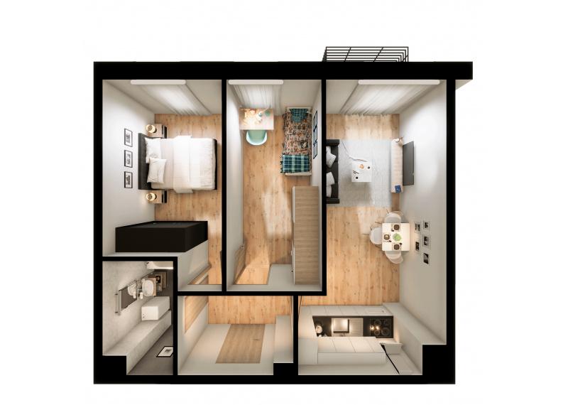 Mieszkanie 56D/28