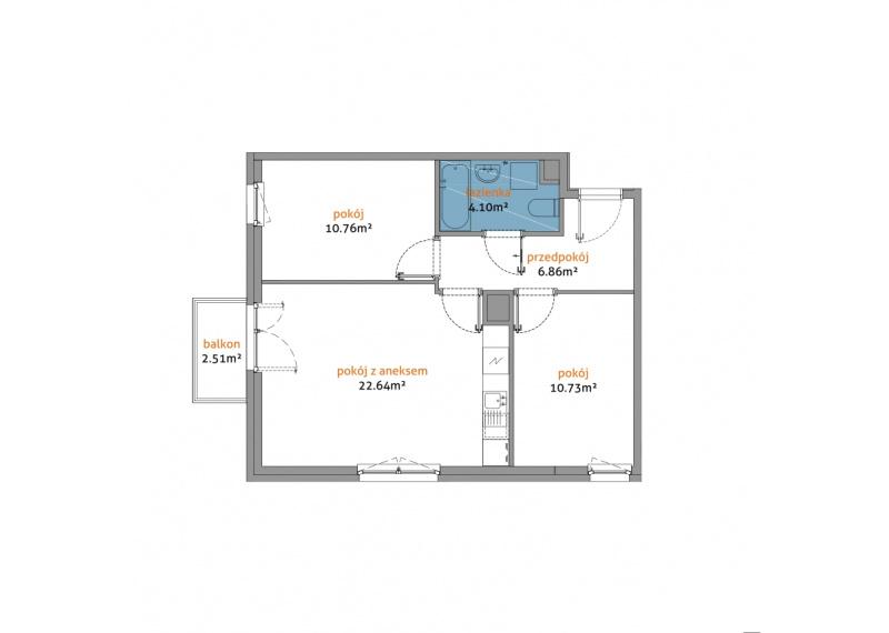 Mieszkanie 56D/46