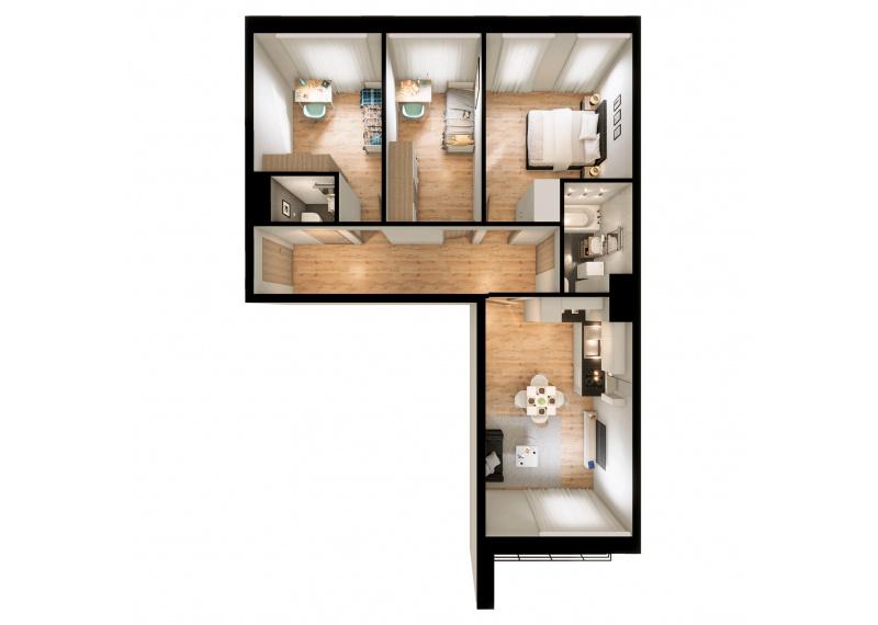 Mieszkanie 56C/140