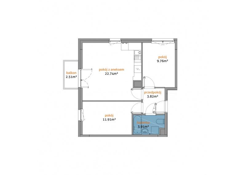 Mieszkanie 56D/57