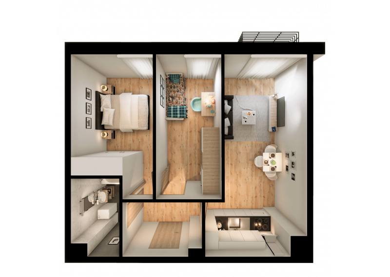 Mieszkanie 56D/68