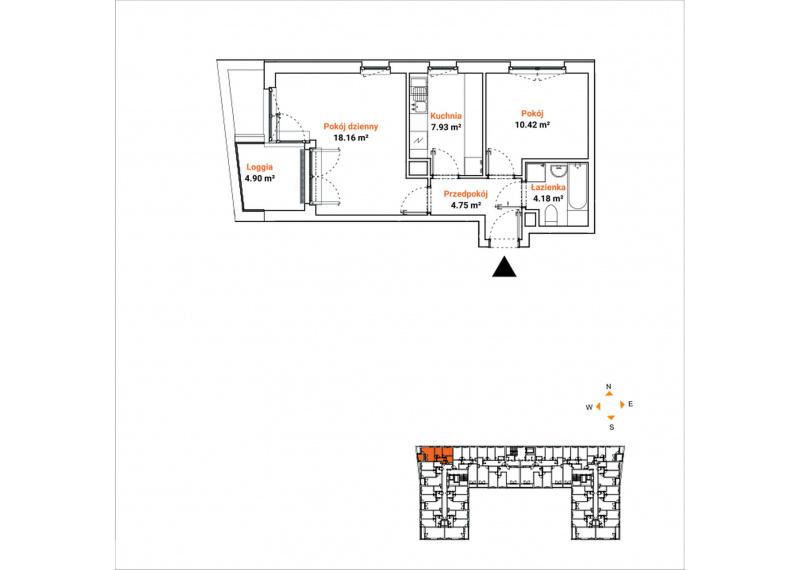 Mieszkanie 63J/45
