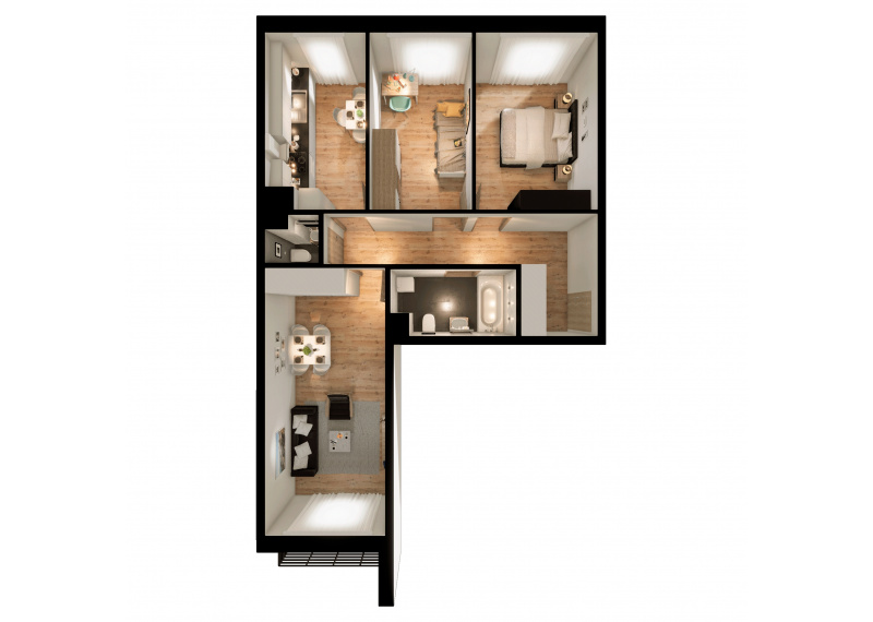 Mieszkanie 63J/147