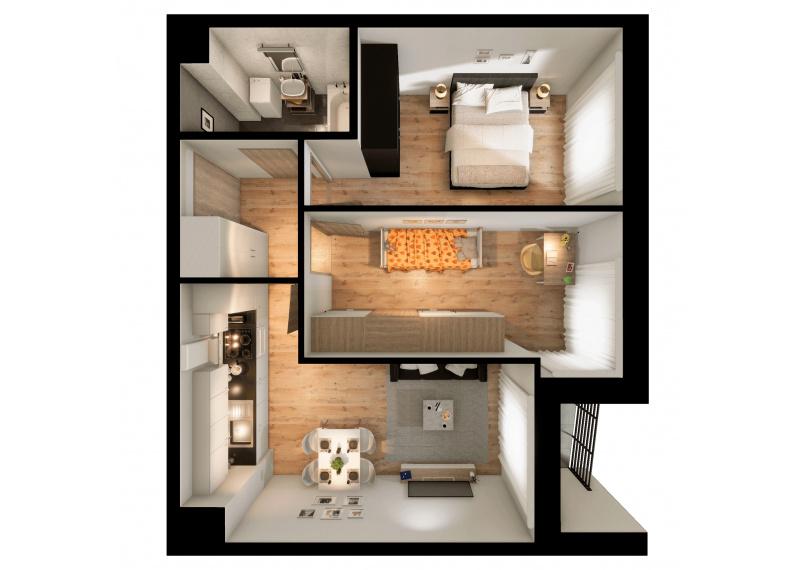 Mieszkanie 63J/149