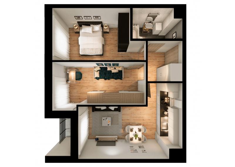 Mieszkanie 63J/153