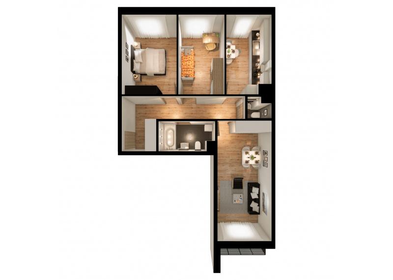Mieszkanie 63J/53