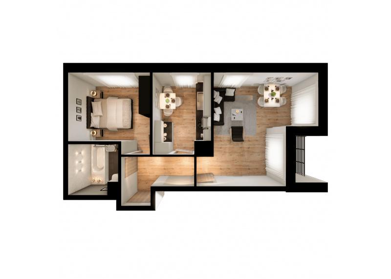 Mieszkanie 63J/155