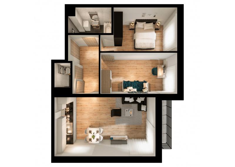 Mieszkanie 63J/158