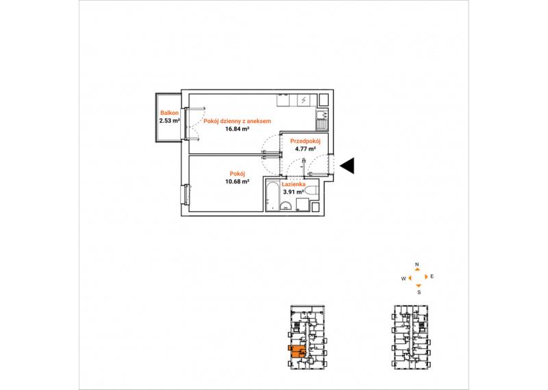 Mieszkanie 63K/58