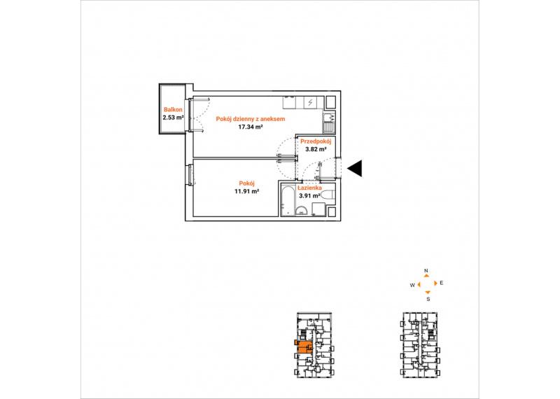 Mieszkanie 63K/59