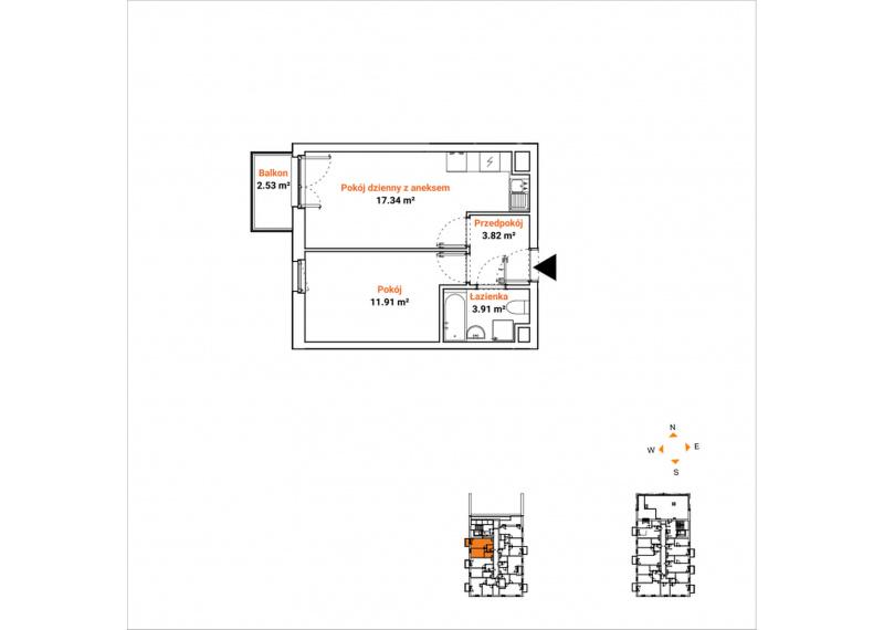 Mieszkanie 63K/72