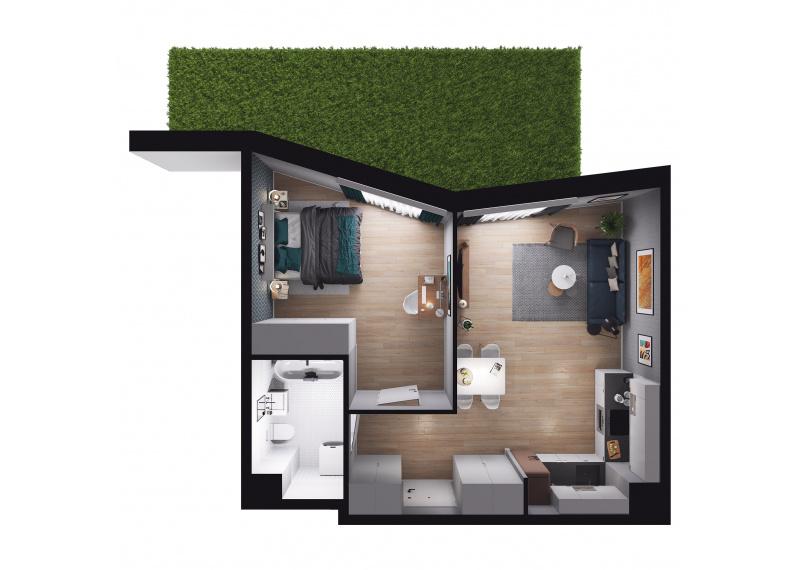 Mieszkanie Budynek A/M01