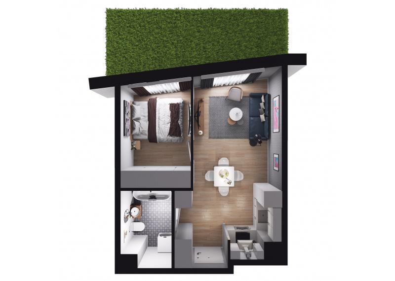 Mieszkanie Budynek A/M02