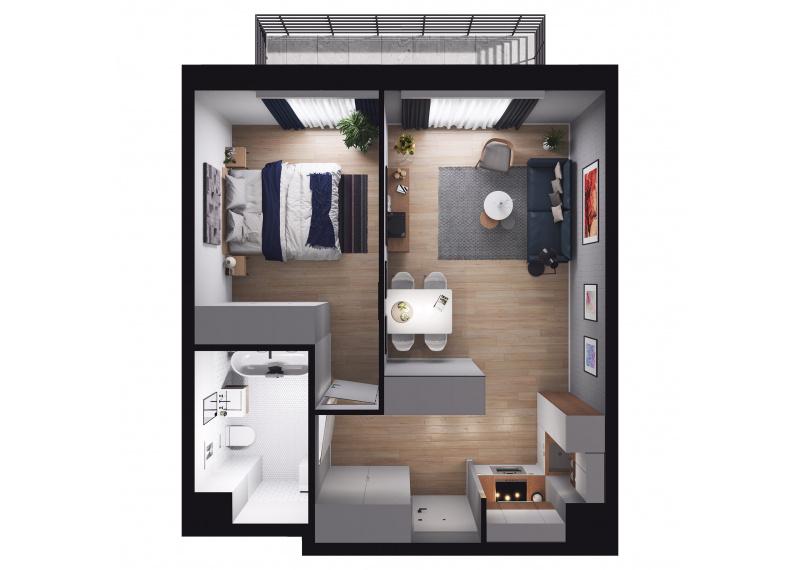 Mieszkanie Budynek A/M03