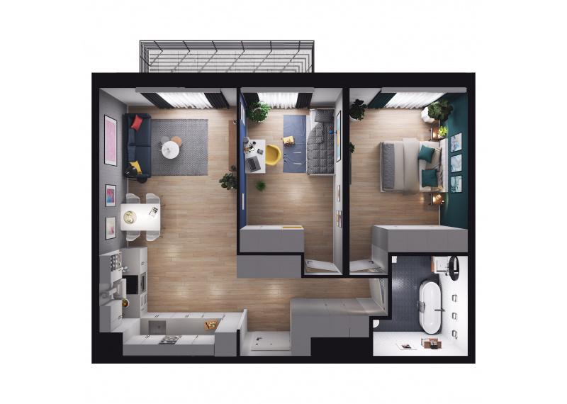 Mieszkanie Budynek A/M04