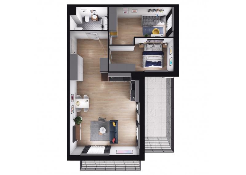 Mieszkanie Budynek B/M42