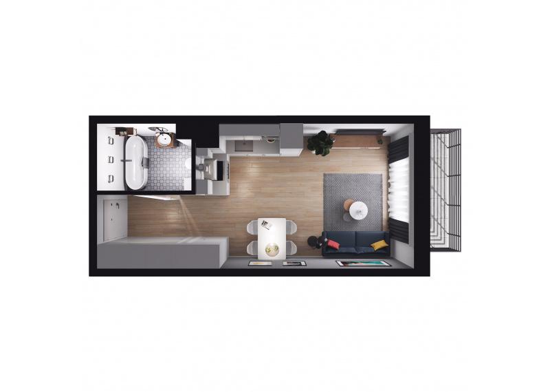 Mieszkanie Budynek B/M43