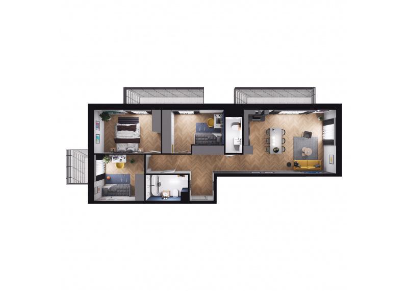 Mieszkanie Budynek B/M44