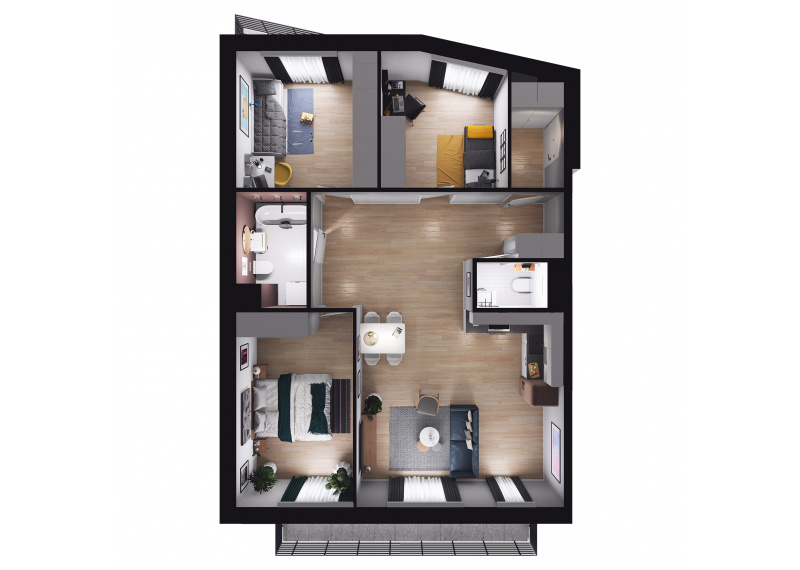 Mieszkanie Budynek B/M56