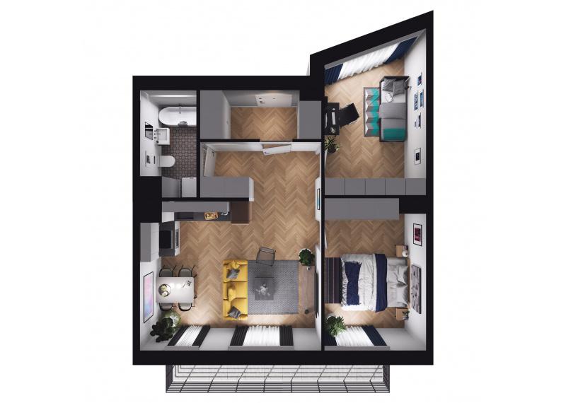 Mieszkanie Budynek B/M58