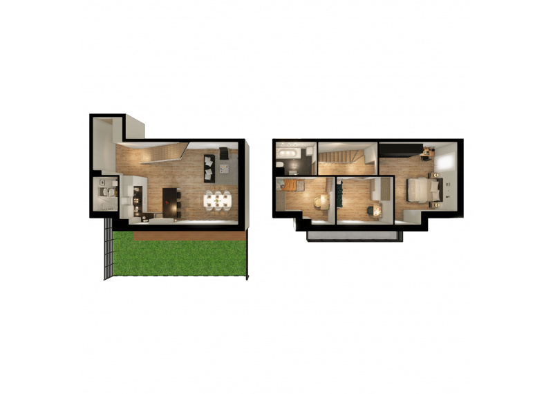 Mieszkanie L/L2 - I etap