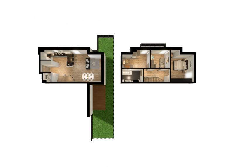 Mieszkanie N/N1 - I etap