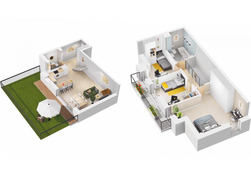 Mieszkanie N/N2 - I etap