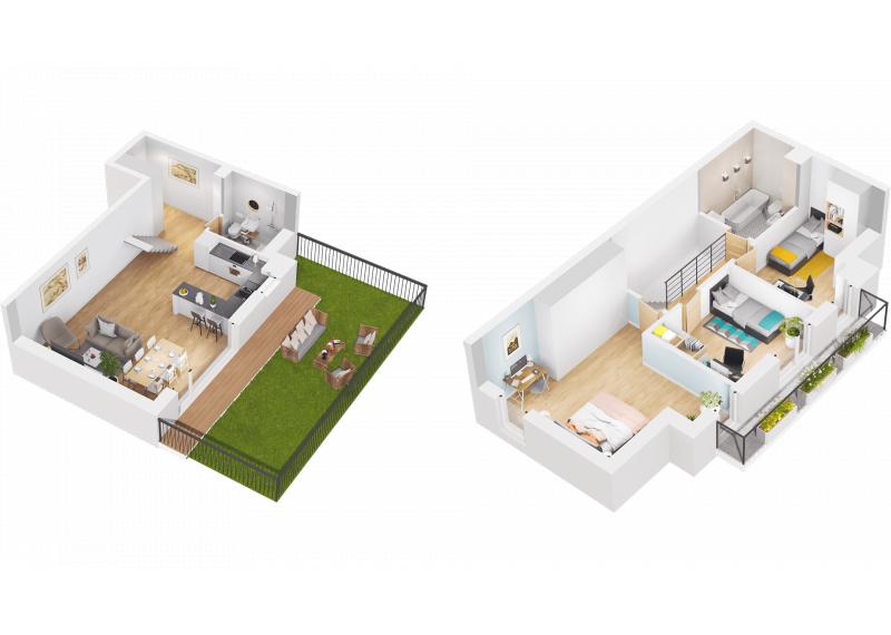 Mieszkanie M/M2 - I etap