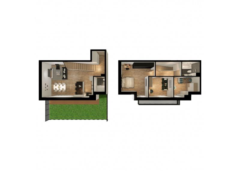 Mieszkanie K/K2 -I etap