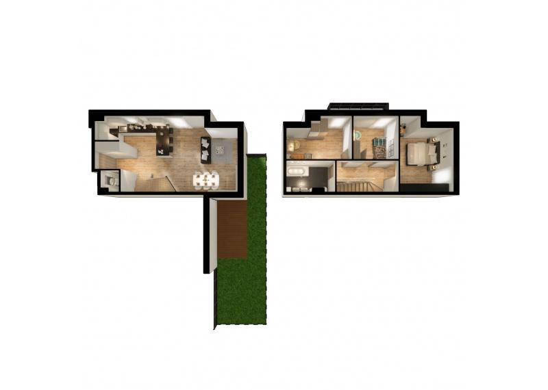 Mieszkanie L/L1 - I etap