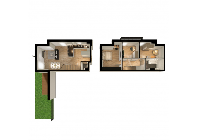 Mieszkanie K/K1 - I etap