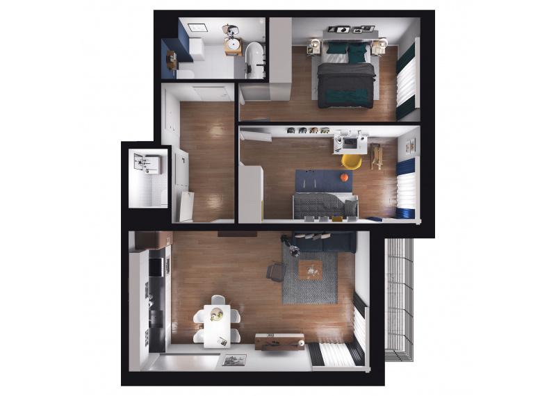 Mieszkanie D1/D1/142