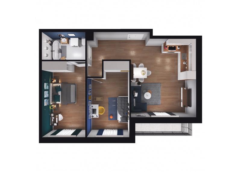 Mieszkanie D1/D1/92