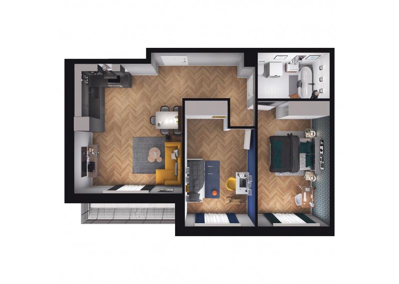 Mieszkanie D1/D1/95