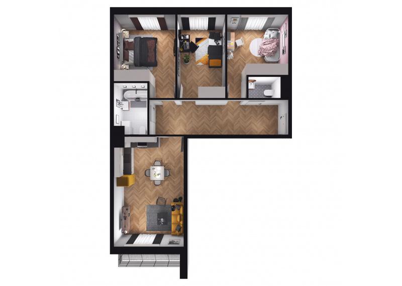 Mieszkanie D1/D1/97