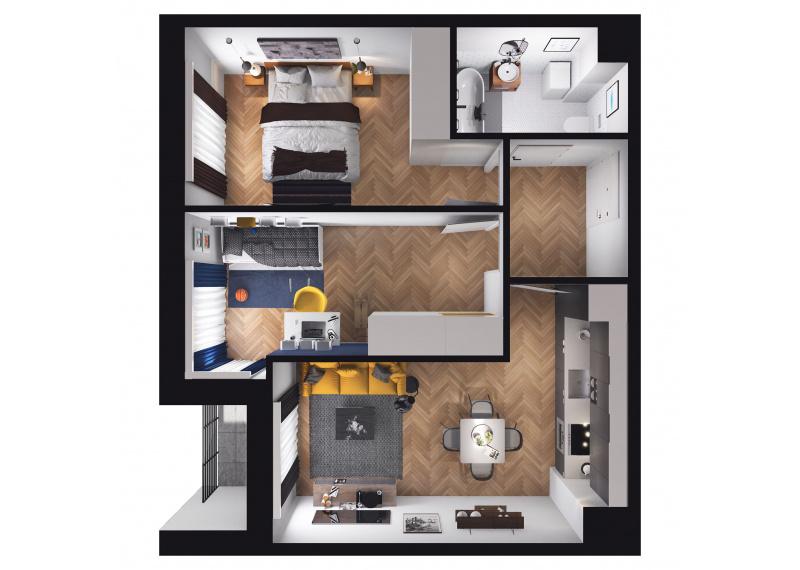 Mieszkanie D1/D1/56